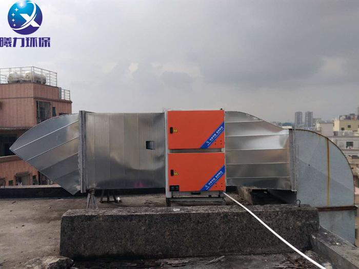 餐饮油烟净化器进行高空排放避开敏感点排放