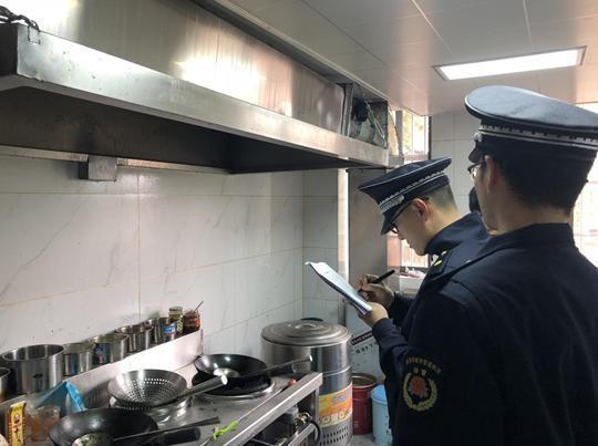 检查厨房卫士状态和饭店油烟净化器运行是否正常
