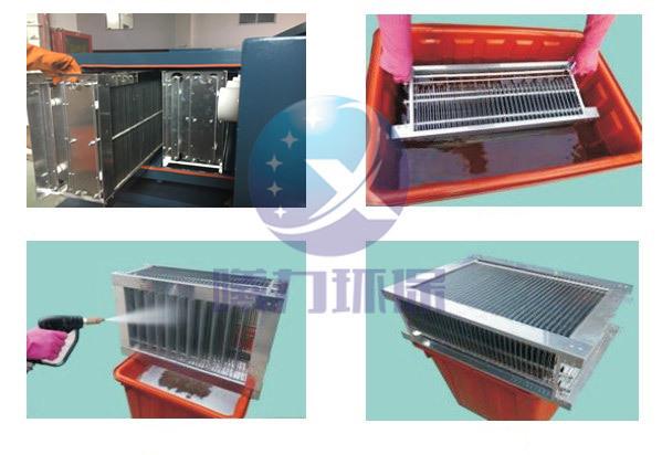 油烟净化器电场清洁方法