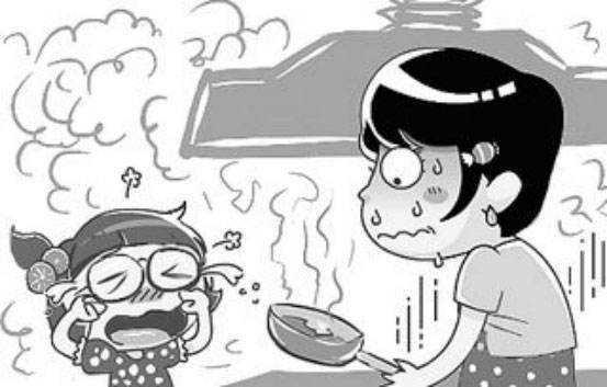 吸进过多的厨房排烟,那麼极有可能引起肝癌等病症