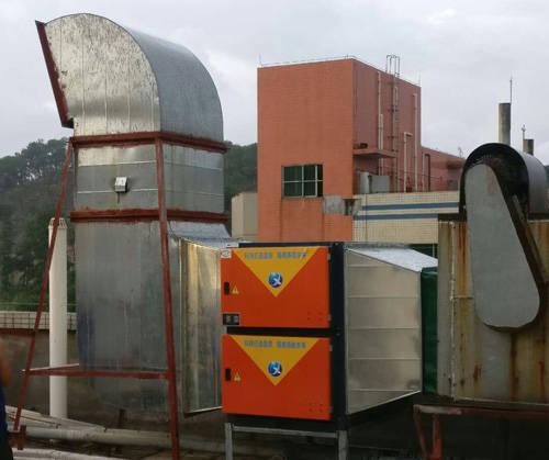 10000風量工業油煙凈化器安裝案例